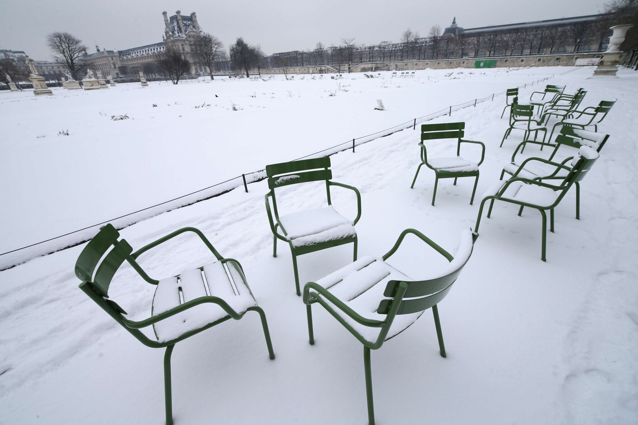 Paris sous la neige. © Photo Michel Stoupak. Sam 19.01.2013, 11:18.