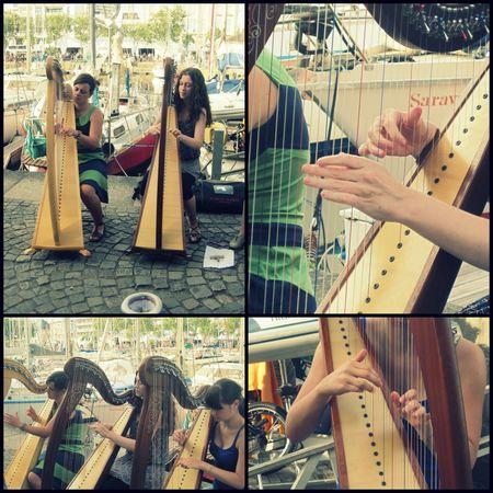 Joueuses de Harpe