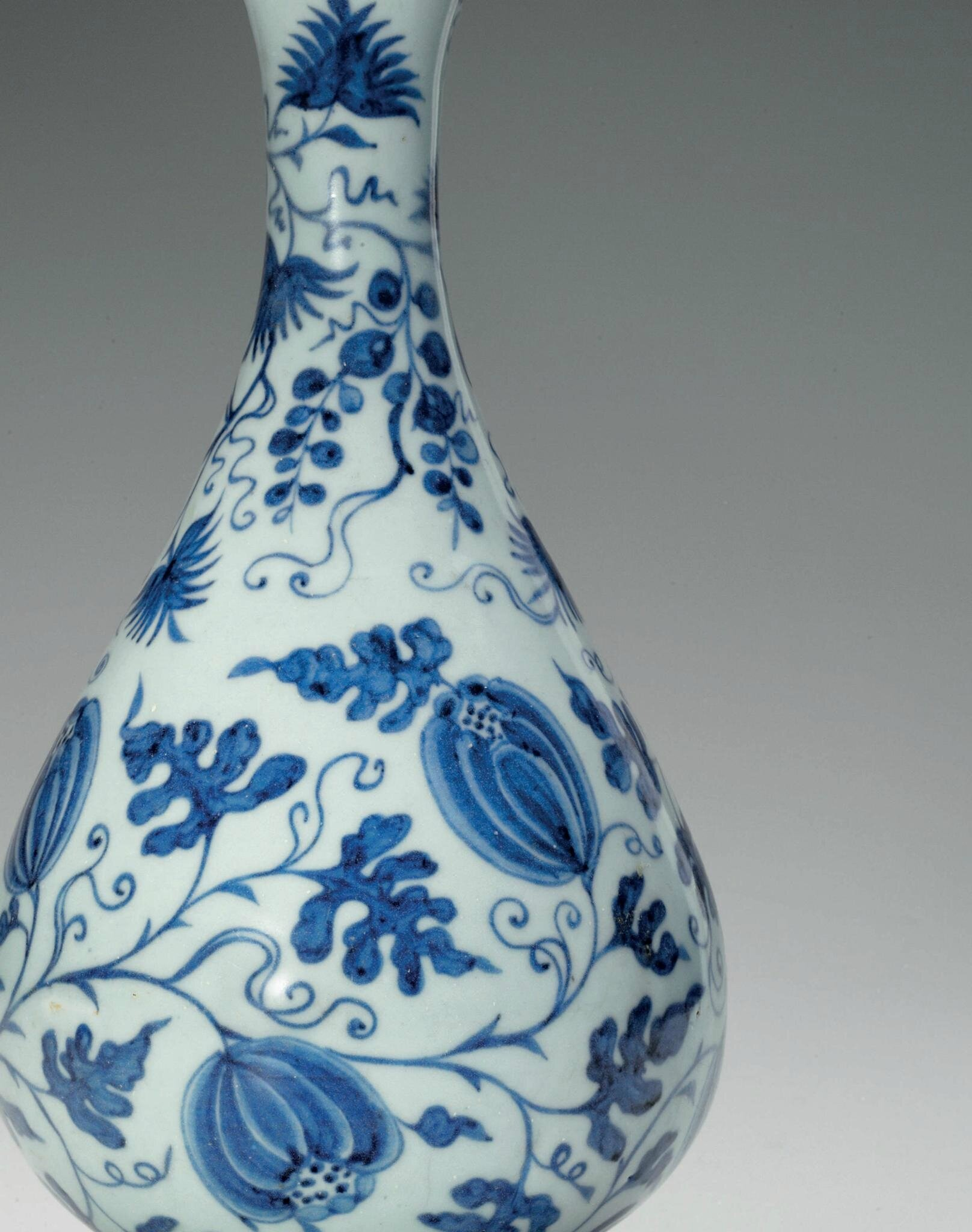 A very rare blue and white pear shaped bottle vase yuhuchunping a very rare blue and white pear shaped bottle vase yuhuchunping yuan dynasty 1279 1368 reviewsmspy