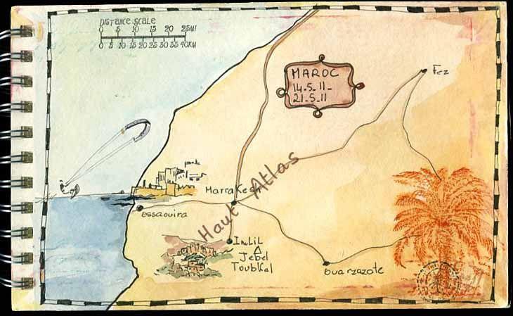 Voyage au Maroc  Photo de LES PAGES EN SCRAPBOOKING  LE SCRAP DE MOMO