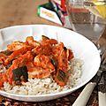 Mon curry rouge de poulet : un peu relevé mais surtout très parfumé