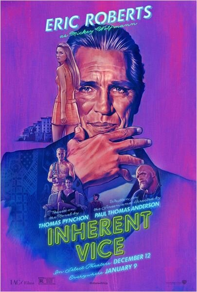 Inherent Vice (affiche Eric Roberts)