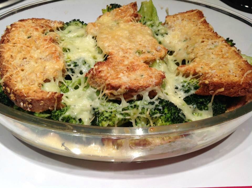 Pain perdu aux brocolis