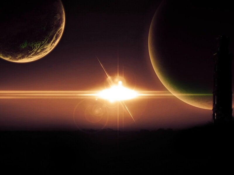 planets-light-rays