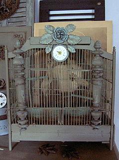 cage à oiseau