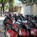 parking de moto HCMC