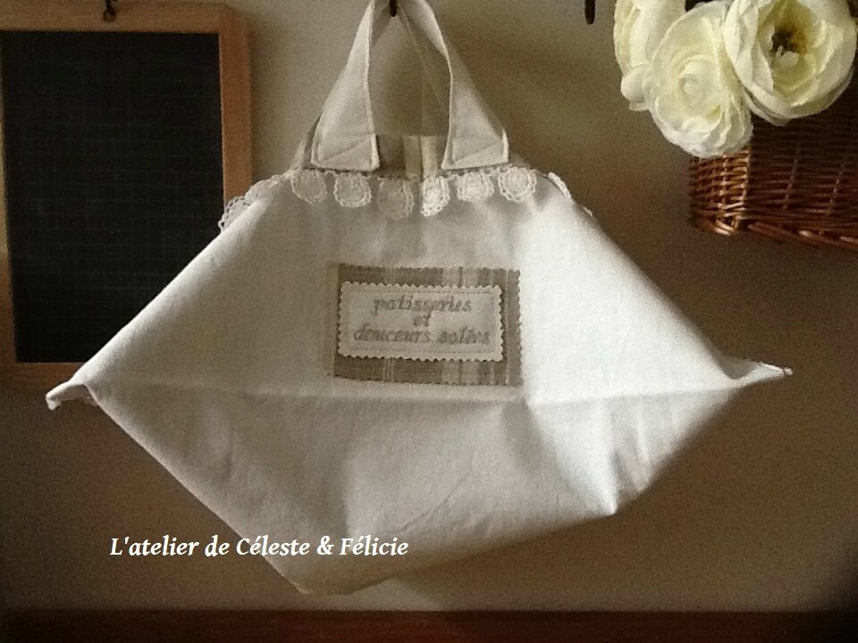 SAC A PATISSERIE SHABBY