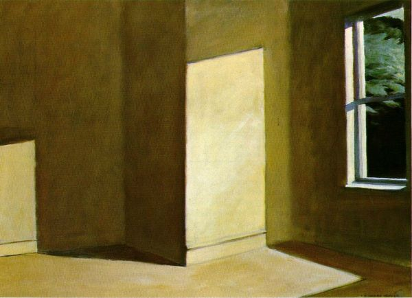 sun in an empty Room 1963 Hopper