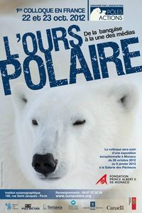 AFFICHE COLLOQUE OURS POLAIRE
