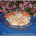 Risotto aux noix de saints-jacques