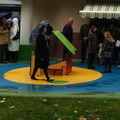 Nouveau terrain de jeux pour les enfants de bonsecours