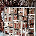 DIY calendrier de l'Avent