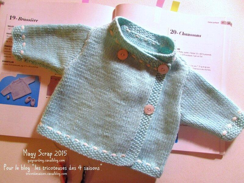 Aujourd'hui, c'est tricot pour bébé !
