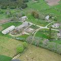 2009 05 12 Vu aérienne depuis l'ULM entre Etoile-sur-Rhône et Chez moi à Madelonnet (41)