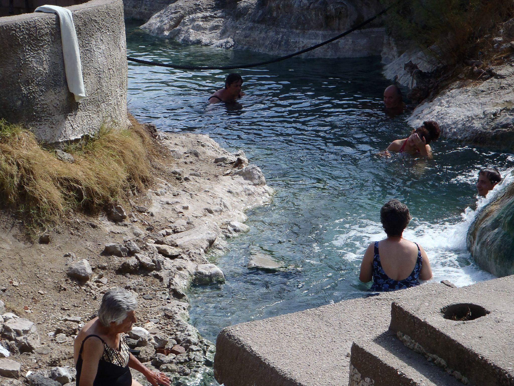 grèce sources chaudes des thermophiles les nayades