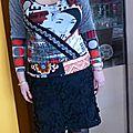 Bonne année et dernière couture de l'année 2014 : un crazy t-shirt