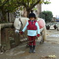 Margaux à cheval