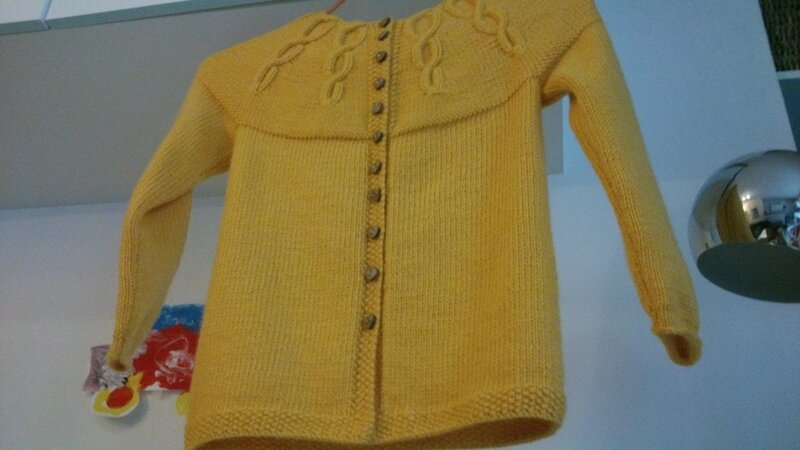 gilet miss Korrigan 6A Partner 3,5 coloris jaune (6)