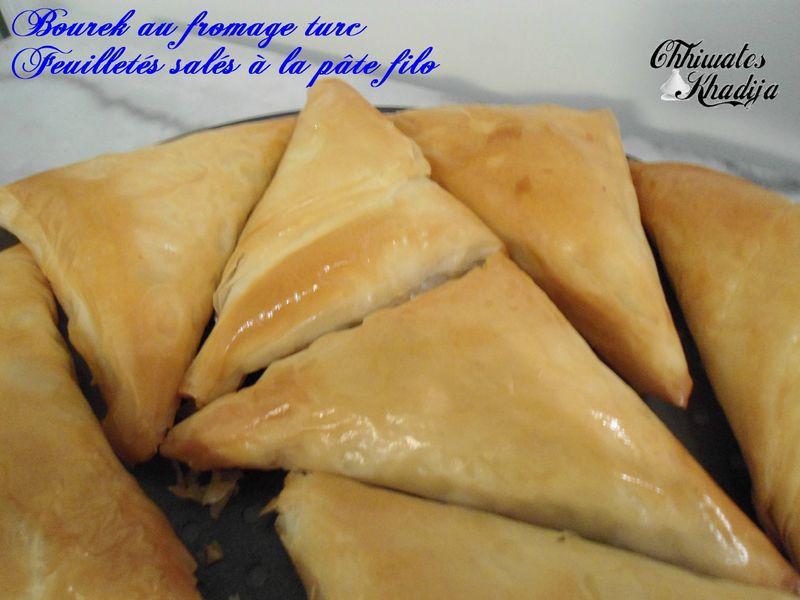 Bourek fromage turc