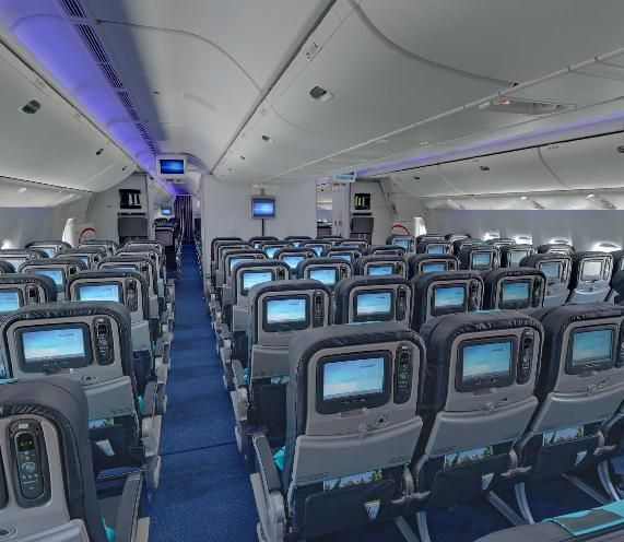 Interieur boeing 777 air austral for Interieur boeing 777 300er air france