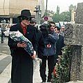 Michael jackson à bucarest (roumanie), en 1992 et 1996