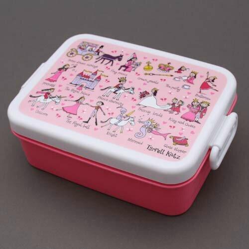 Boite à déjeuner, lunch box sans BPA Princesses Tyrrell Katz