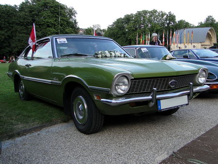 FORD Maverick 2door Fastback Sedan 1972 Internationales Oldtimer Meeting Baden-Baden 2009 2