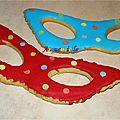 Masque Carnaval détail