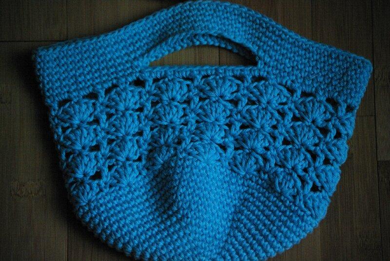 crocheter des petits sacs