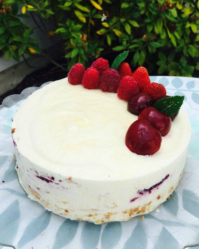 Entremet cheesecake 4