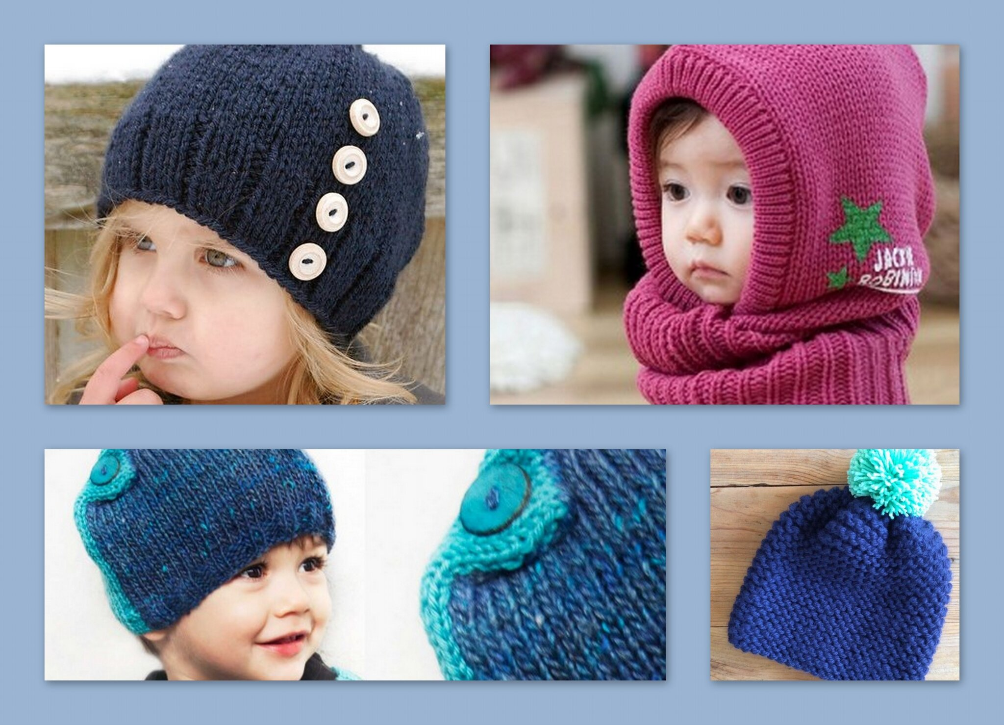 explication tricot bonnet enfant