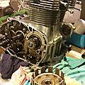 Re-démontage du moteur de la 350 cb