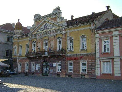 Roumanie, Timisoara, place Unirii