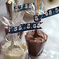 Cuillères gourmandes pour chocolat chaud - cadeaux gourmands