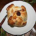 Douillon (bourdelot) farci au cranberries