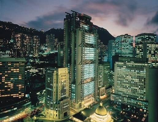 Norman Forster, Banque de Hong Kong, 1986