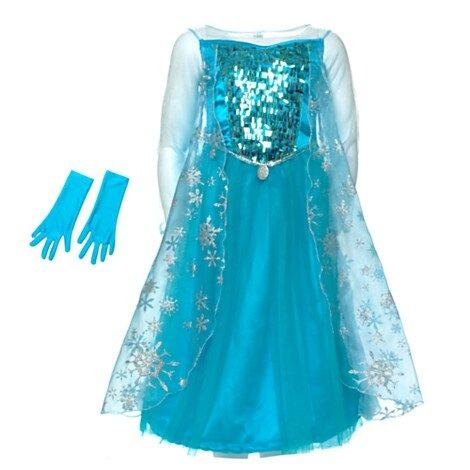 La robe bleue d'Elsa, Frozen/La Reine des Neiges - La Casa Cactus