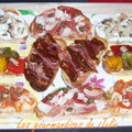 Assortiment de tartines apéritives
