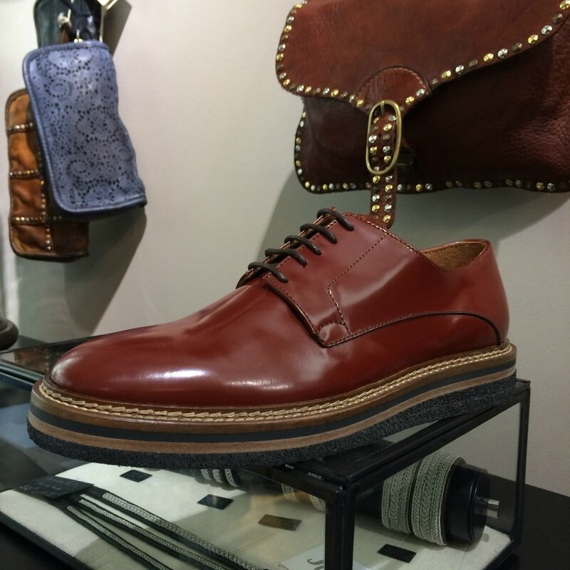 Maschiaccio derby low boots made in ITALY septembre 2015 Boutique Avant-Après 29 rue Foch 34000 Montpellier