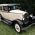 Citron AC4 berline 1929