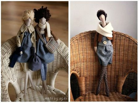 OOAK fabric doll Etsy 7