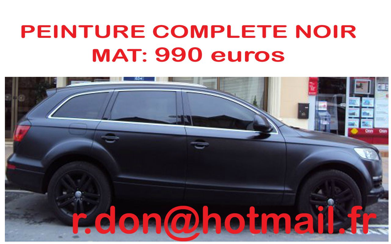 audi q7 audi q7 audi q7 total covering noir mat audi q7 peinture covering noir mat audi q7. Black Bedroom Furniture Sets. Home Design Ideas