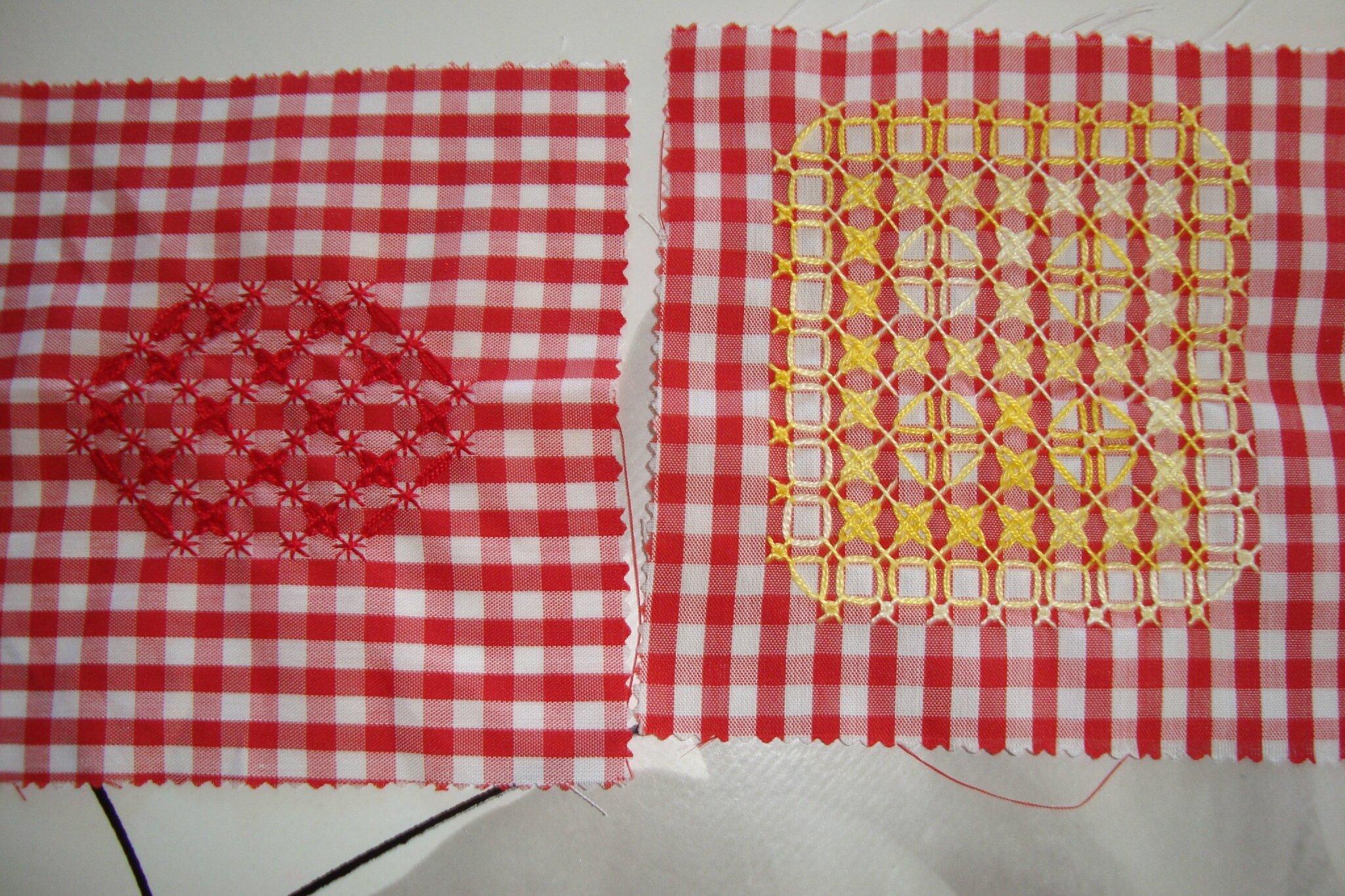 6 carr 233 s de tissu vichy pour les pots de confiture adelyne 82