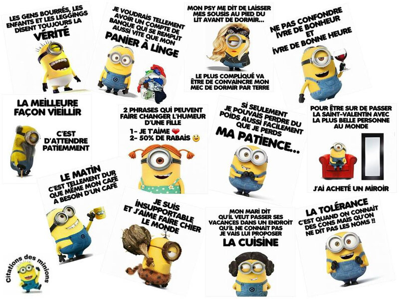 citations des minions
