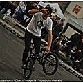 2012 : Bmx Indoor de Caen, à côté de la piste.