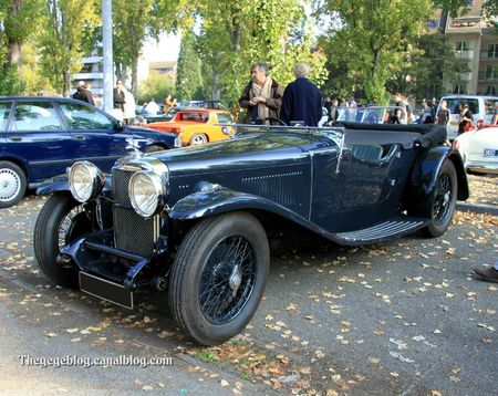 Alvis speed 20 SA de 1932 (Retrorencard octobre 2011) 01