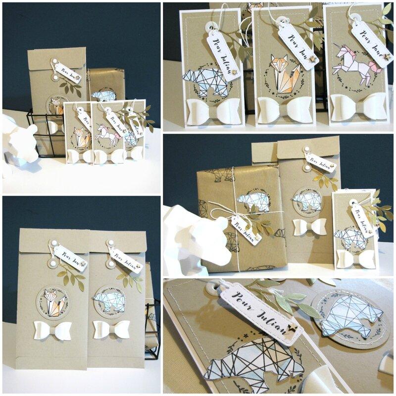 Jasmina - Challenge Cartoscrap emballage montage