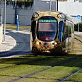 Tramway Montpellier Ligne 4 Solaire