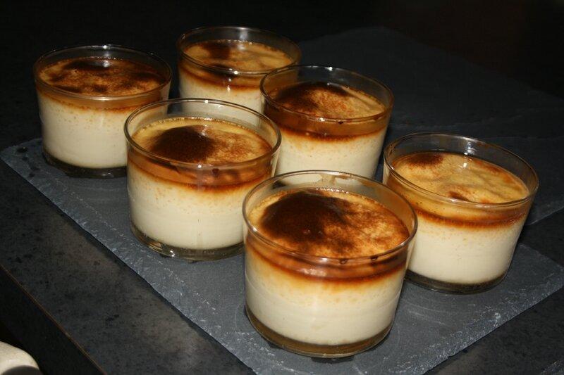 Flan coco martiniquais vanille bourbon - Flan de maison ...