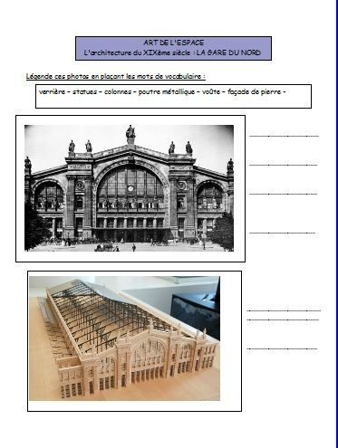 Art visuel architecture et r volution industrielle for Art et architecture